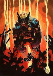 Wolverine #300 by MickHunter