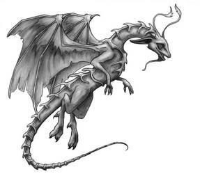 Vertibre Dragon by LiquidDragonN