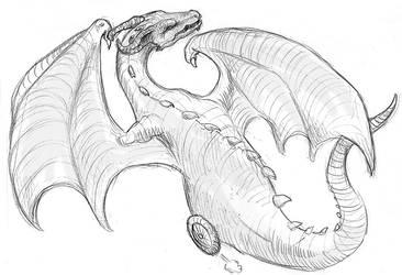 Dragon on Wheels by LiquidDragonN