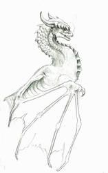 Dragon Cackle by LiquidDragonN