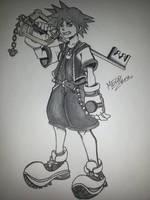 Sora - Kingdom Hearts by MecoAbente