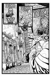 Coffin Dodger #1 Page 4 (Inks) by danielbelic