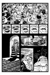 Coffin Dodger #1 Page 8 (Inks) by danielbelic