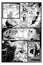 Coffin Dodger #1 Page 10 (Inks) by danielbelic