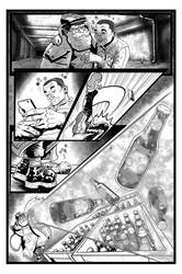 Coffin Dodger #1 Page 11 (Inks) by danielbelic