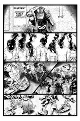 Coffin Dodger #1 Page 12 (Inks) by danielbelic