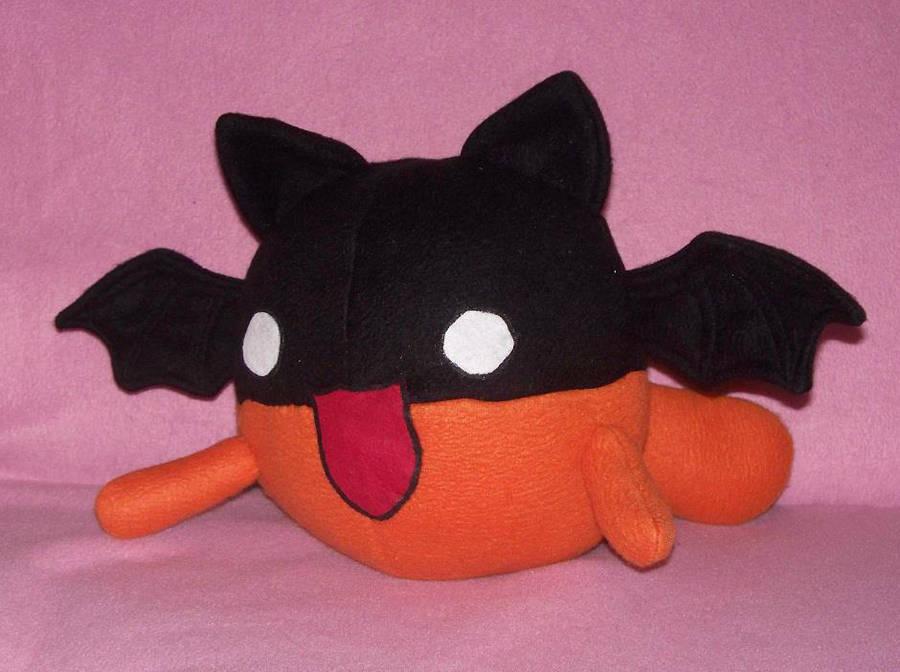 Bat Cat Plush by PlushWorkshop