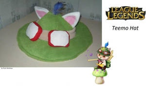 Teemo Hat League of Legends by PlushWorkshop