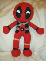 Deadpool Plushie by PlushWorkshop