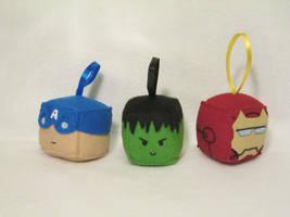 Avengers Cubes by PlushWorkshop
