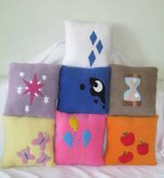 My Little Pony Pillows by PlushWorkshop