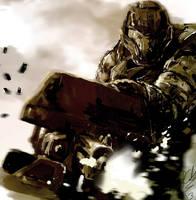 Spartan Halo Warrior by freejimmy
