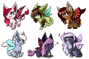 Flufabu Chibi Batch - 03 by Celioxa