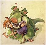 Chomp Hugs by Gatordog