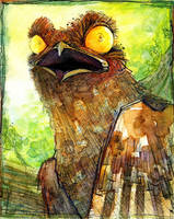 Potoo is not happy by Talenshi