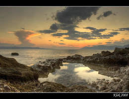 Makarska - Sunset by Klek