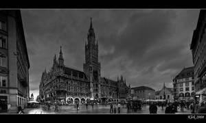 Marien Platz 2 BW by Klek