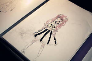 Pastel Goth Style I by Lunawaii