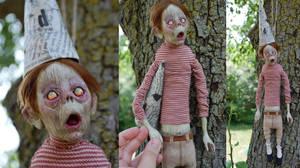 Dummy zombie by Woodedwoods