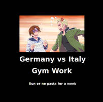 Germany vs Italy by MyWorstNightmares