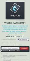 TwitStamp TUTORIAL part 1 by agosbeatle