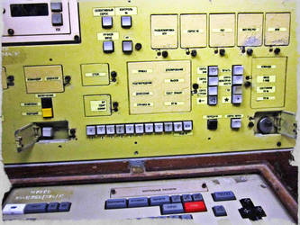 Soviet Nuclear Missile Control Panel by Valkyrja-Skuld