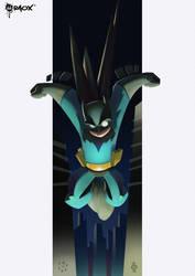 JLA Jr: The Dark Knight by raoxcrew