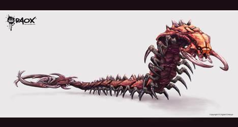 Alien Centipede by raoxcrew