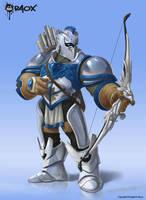 Warblazer: Prince Tharamere by raoxcrew