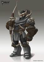 Warblazer: Dark Archer by raoxcrew