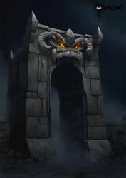Evil Fortress by raoxcrew