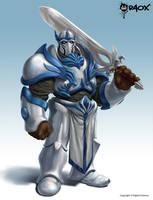 Knight Swordsman by raoxcrew