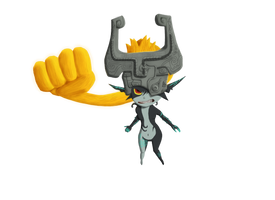 Midna - Collab by CleverAsFoxes
