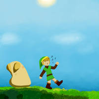 Pols Voice's Weakness: Link's Whistling! by CleverAsFoxes