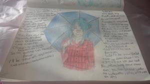 Under my umbrella ella ella eh ! by oddsockzx