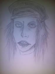 marylin Manson by oddsockzx