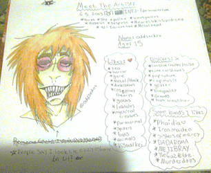Meet the artist updated WIP by oddsockzx