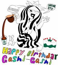Gift: Happy (early) birthday, Gashi-Gashi! by DakotaStomp96