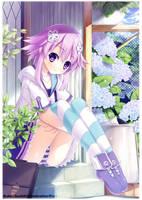 Kamijigen Game Neptune V Artbook Promo by KahoOkashii