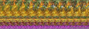 Ganesh Stereogram, fragment 2 by 3Dimka