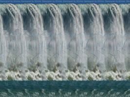 Waterfall Stereogram by 3Dimka