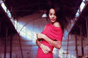 lady in Red by IlonaShevchishina