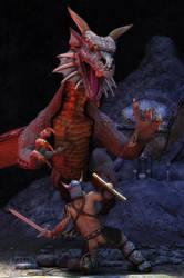 Dragon Hunter by Lunathyque