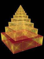 Aztec Pyramid Fractal by crotafang