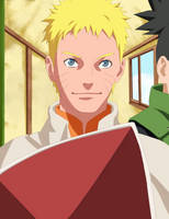 Uzumaki Naruto the seventh Hokage by afran67