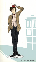 The Eleventh Doctor by bopx