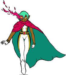 Space Animu Superhero by Axe-Canabrava