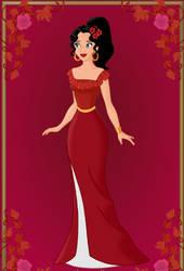 Me as Elena by PGS-Cinderella