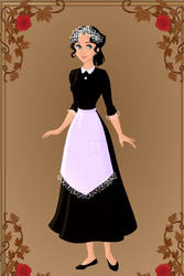 Me as a Maid by PGS-Cinderella