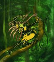 Zulie Zerpent-Jungle Assassin by MrTuke
